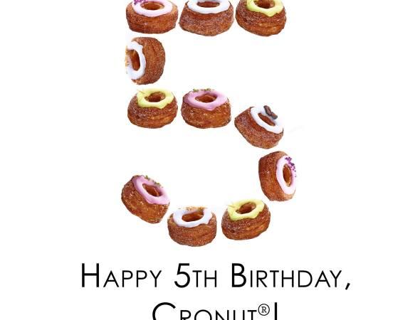 Happy 5th Birthday Cronut