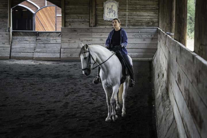 Happy Horse Owner
