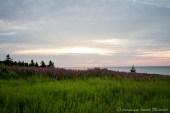 Vue du cap aux rosiers, sur le golfe de Gaspé