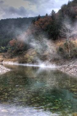 Sources chaudes de Kawayu.