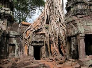 Cité d'Angkor, Cambodge.
