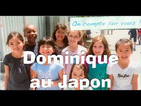 Dominique Dimey chante à Tokyo