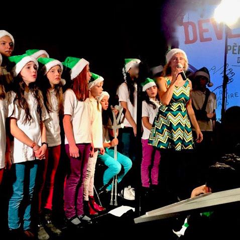 Soirée de lancement des Pères Noël verts