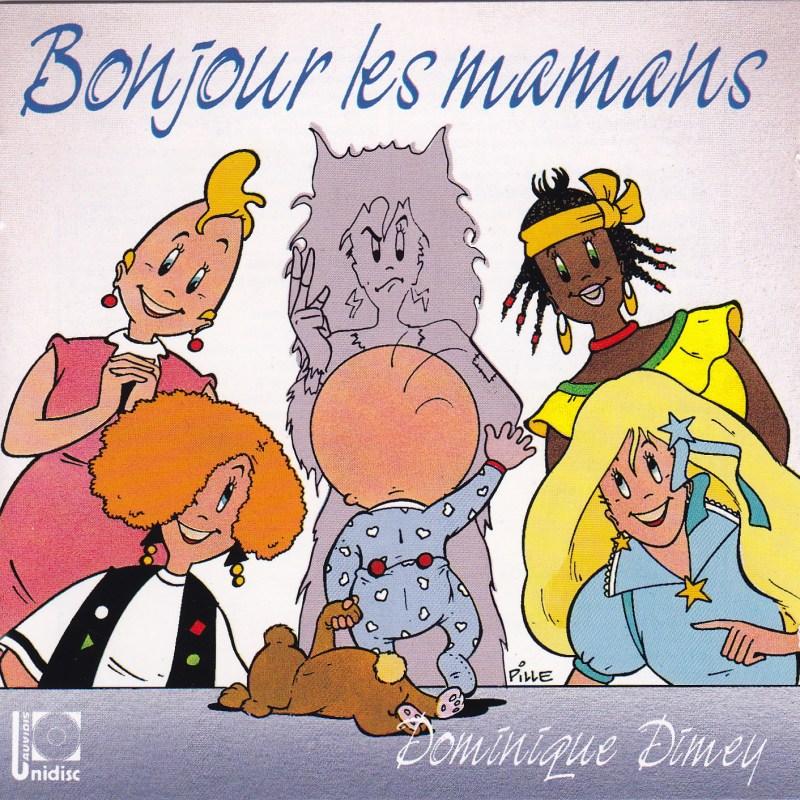 Pochette CD Bonjour les mamans