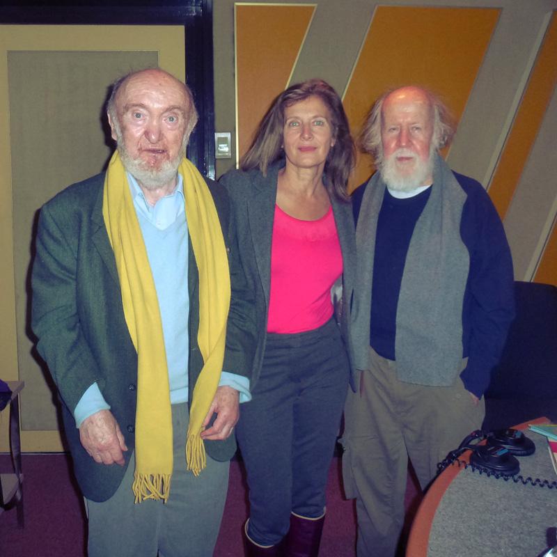 A la radio avec Albert et Hubert
