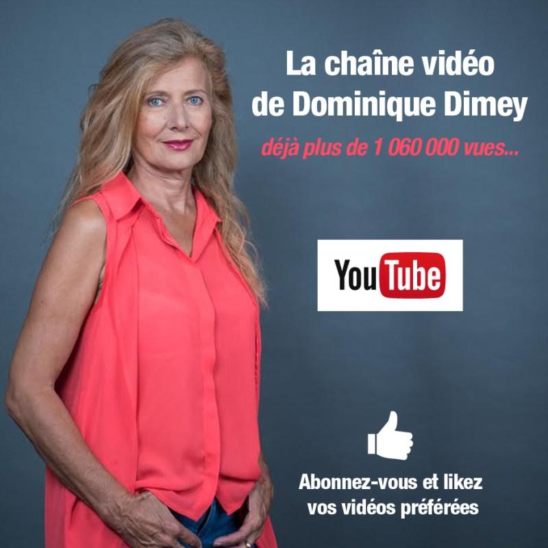 Chaîne YouTube Dominique Dimey