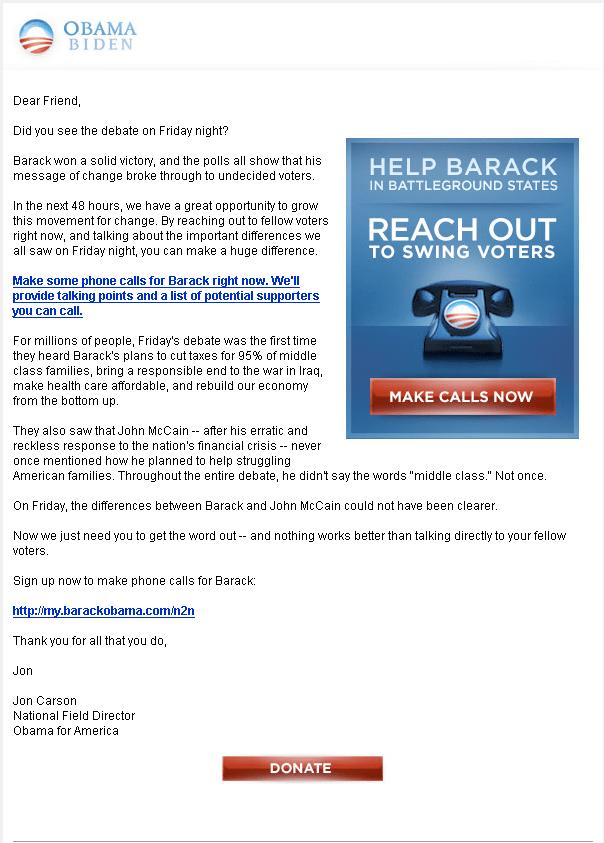 barack obama presidential campaign