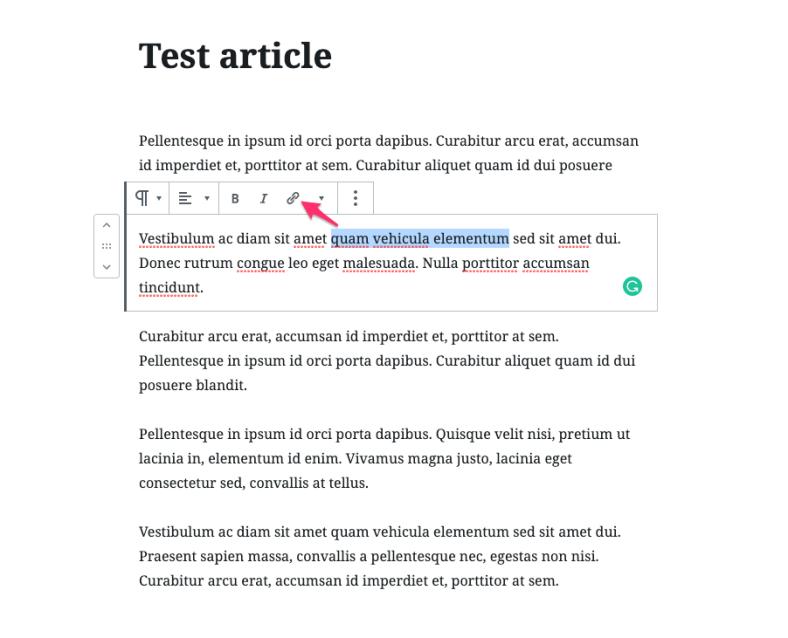 highlight text