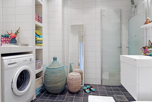 Il bagno con la lavatrice e lasciugatrice  Casa e Trend