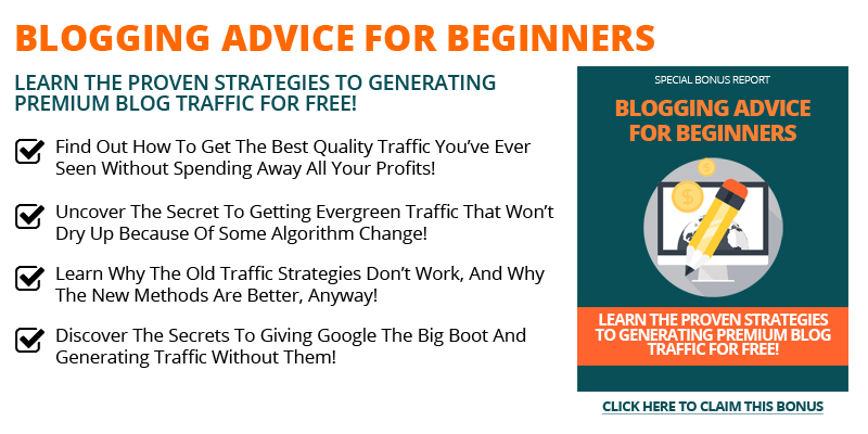 Blogging Advice for beginners