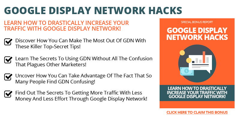 Google Display Network Hacks