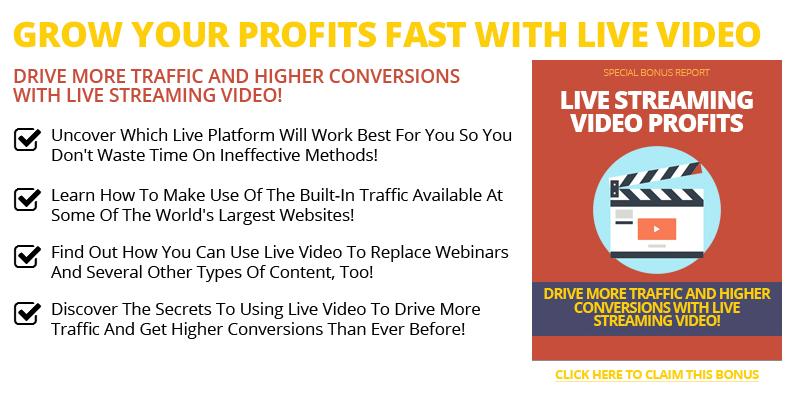 Live Streaming Videos Profits