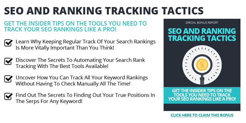 SEO Ranking Tracking Tactics