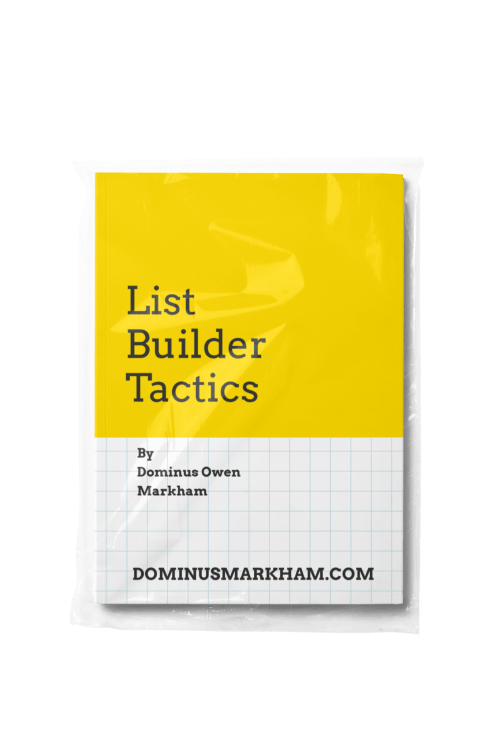 List Builder Tactics
