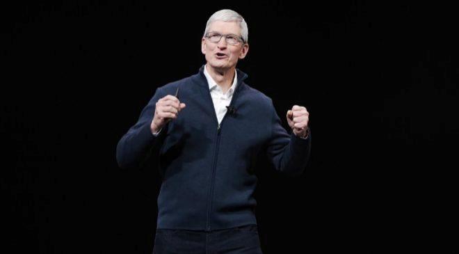 Tim Cook, consejero delegado de Apple. EFE
