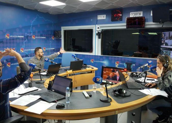 Estudio central de Aragon Radio