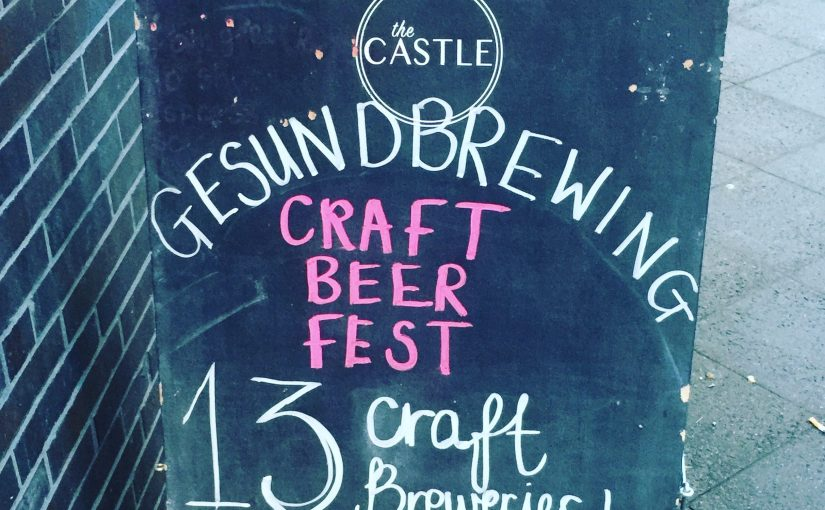 GesundBrewing Craft Beer Festival Winter Edition 2018: klein aber oho!