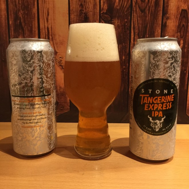 Stone Brewing Berlin - UNIQCAN - Stone Tangerine Express IPA