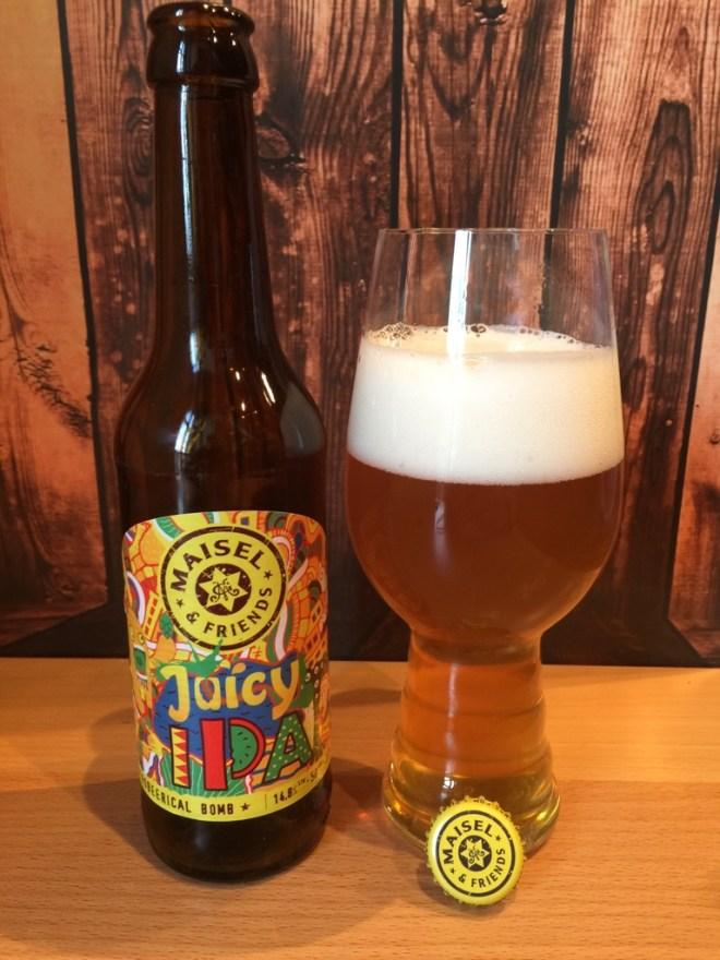 Maisel & Friends - Juicy IPA im Glas, Foto