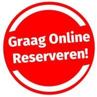graag online reserveren