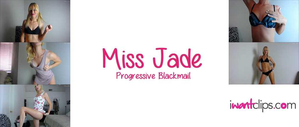 Miss Jade: Progressive Blackmail