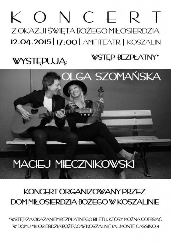 plakat Koszalin korekta