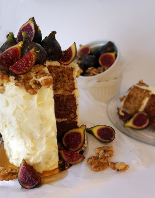 Figs and Honey Cake