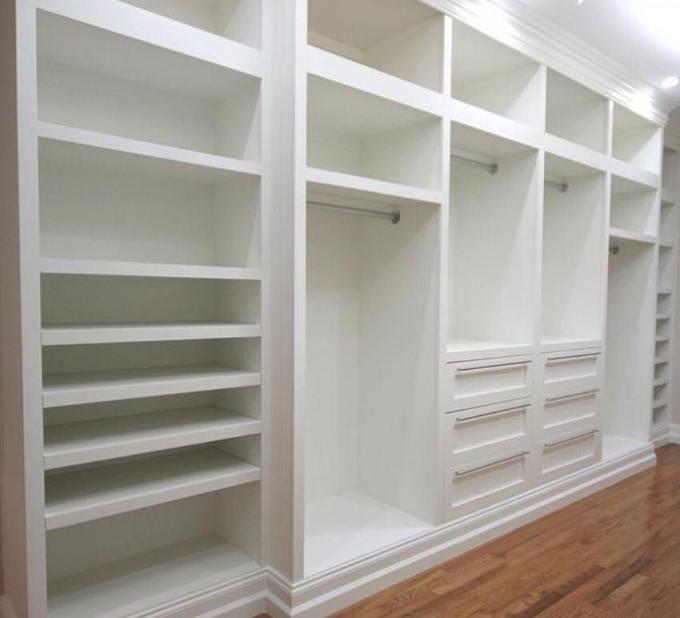 Personalizando seu guarda roupa e seu closet com a for Closet a medida