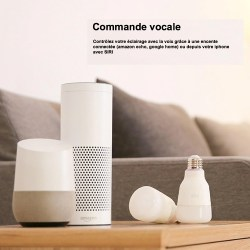 L'ampoule Yeelight Smart dans un salon