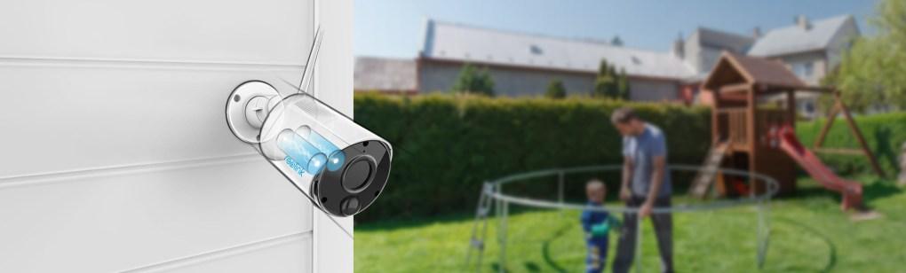 Argus Eco caméra à batterie rechargeable