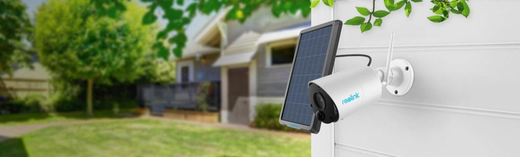 Argus Eco caméra avec panneau solaire