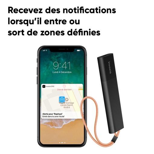 Recevoir des notifications de son traceur