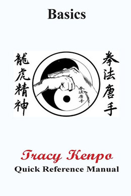 Tracy Kenpo Karate Manuals and DVD's
