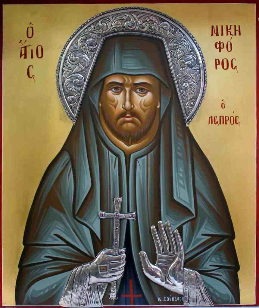 St. Nikephoros the Leper