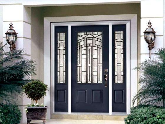 Преимущества металлических входных дверей