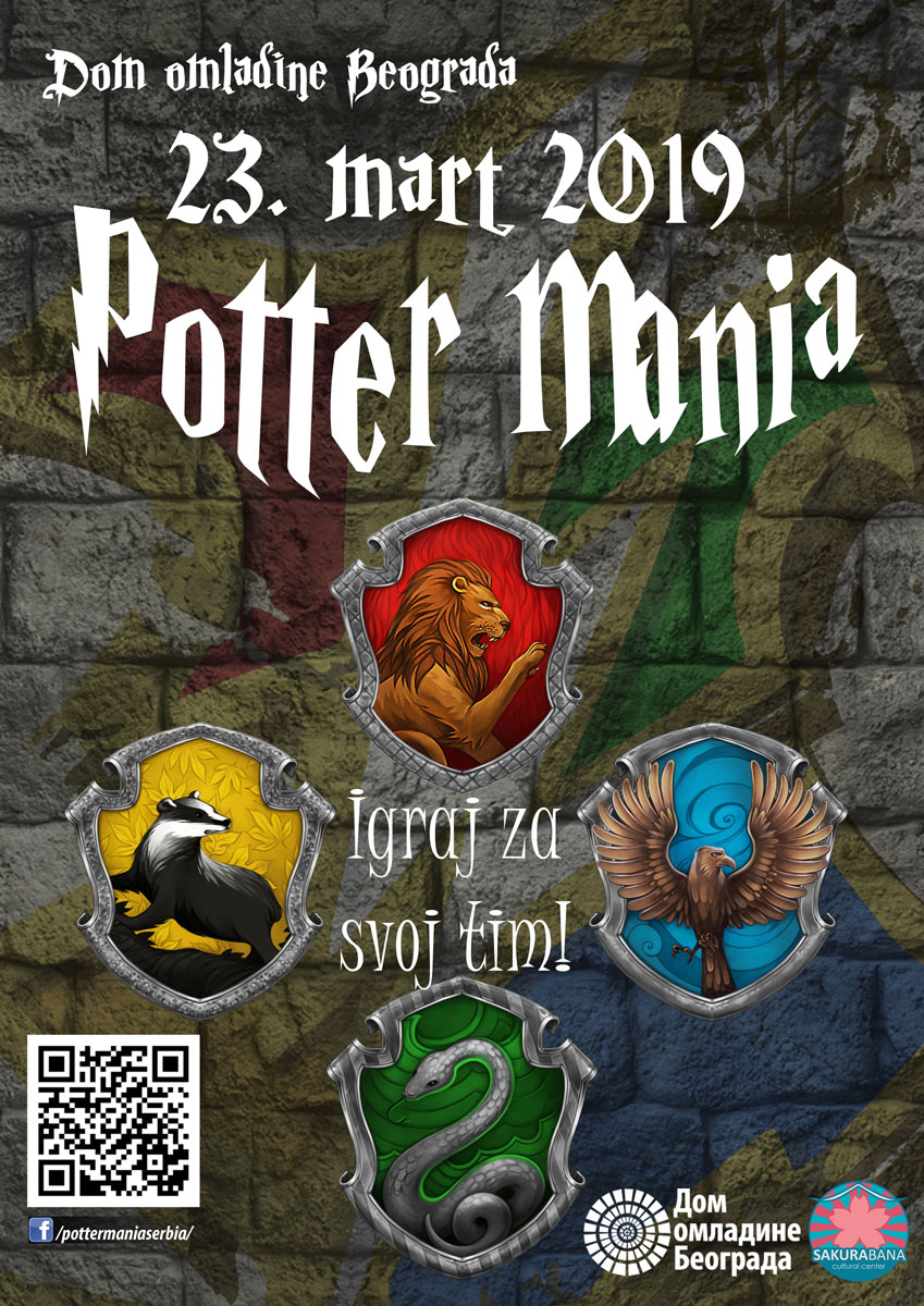 5. Potter Mania poster