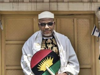 Nnamdi Kanu's Trial: See What DSS Did To Foreigners For Taking Pictures Of High Court, Abuja