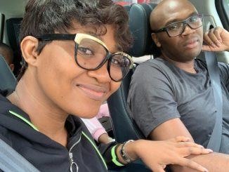 Actress, Mary Njoku celebrates 9th wedding anniversary