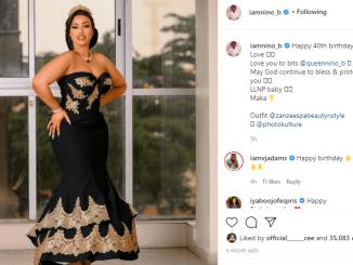 Actor Bolanle Ninalowo celebrates wife on her 40th birthday birthday