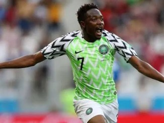 Super Eagles captain Musa gives teammates five million naira out of 10m given to him by NFF for making 100th international cap