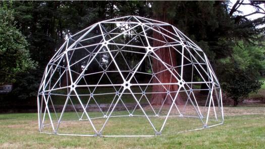 Domo Geodésico estructura aluminio