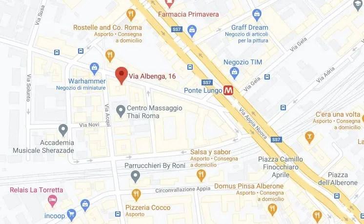 Domos Consulting snc - amministrazione condomini Roma - Dove siamo