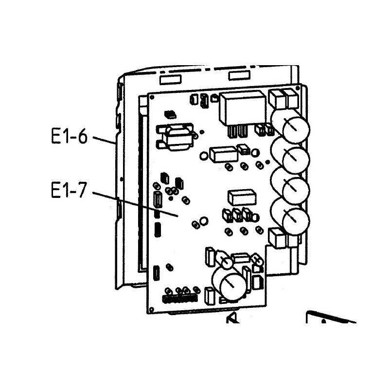 pièce détachée daikin platine inverter EBHQ EBLQ EDHQ ERHQ