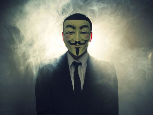 Hacker van Anonymous