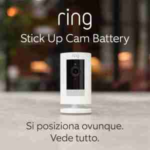 Ring Stick Up Battery