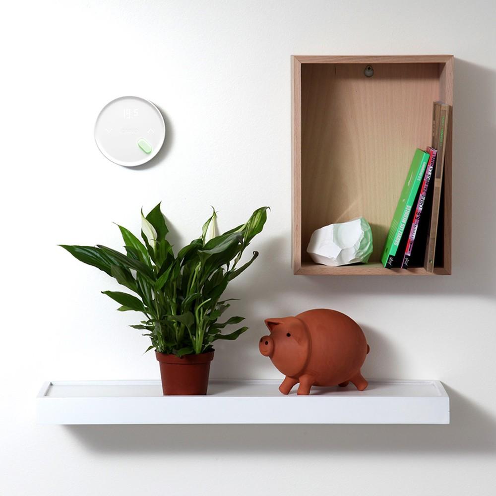 thermostat pour fil pilote qivivo domotikaraibes. Black Bedroom Furniture Sets. Home Design Ideas