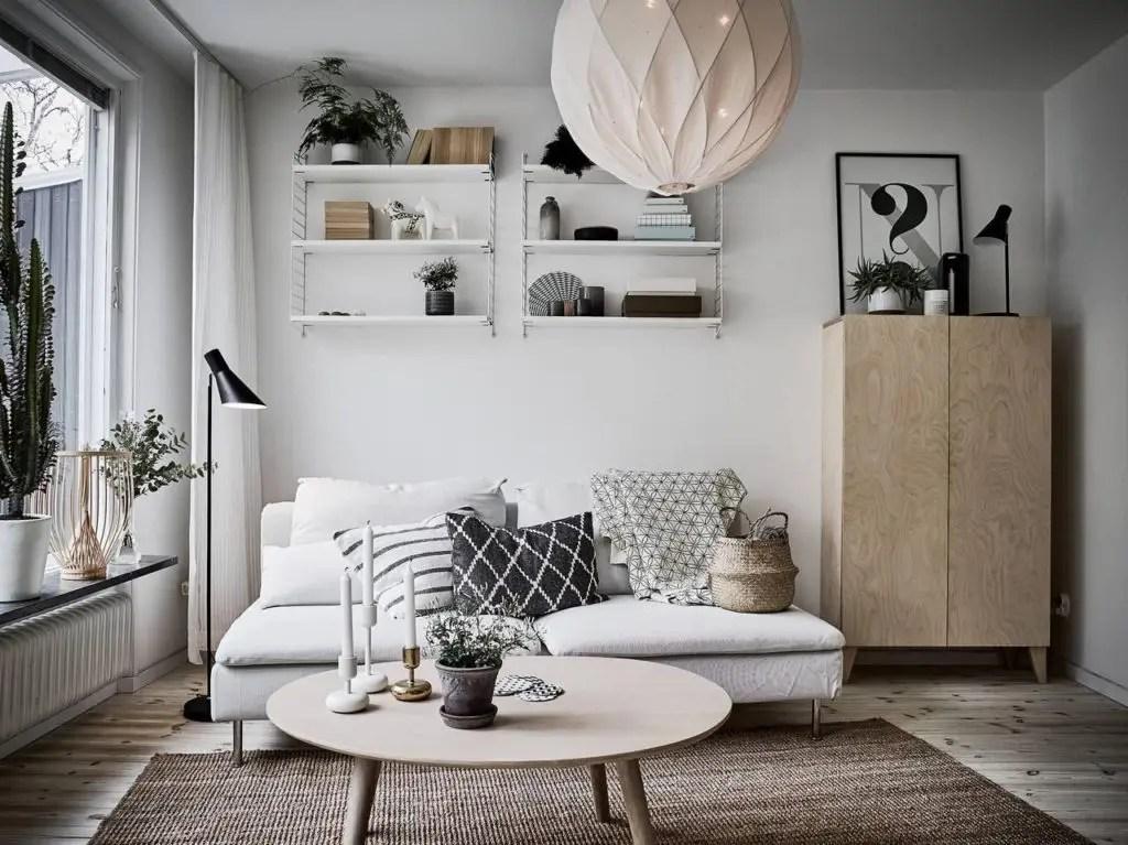 Zaizujeme obvac pokoj ve skandinvskm stylu  Domov21