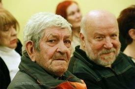 Поэты Александр Комаров и Олег Левитан.