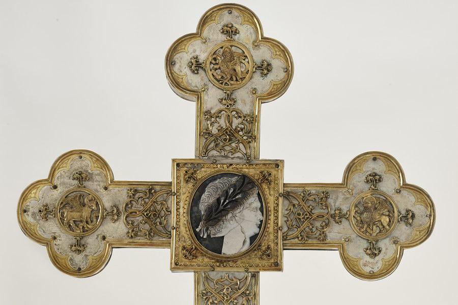 Der Domschatz Minden beherbergt eine der bedeutendsten Sammlungen christlicher Kunst in Deutschland. Foto: DVM/Simon Vogel