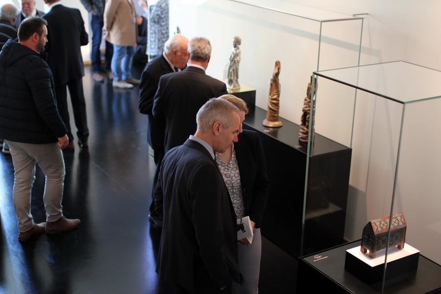 Der neugestaltete Domschatz Minden verzeichnete in den ersten beiden Monaten nach Wiedereröffnung rund 1200 Besucherinnen und Besucher. Foto: DVM